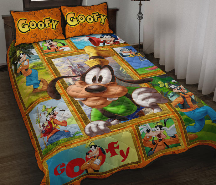 Goofy Quilt Bed Set