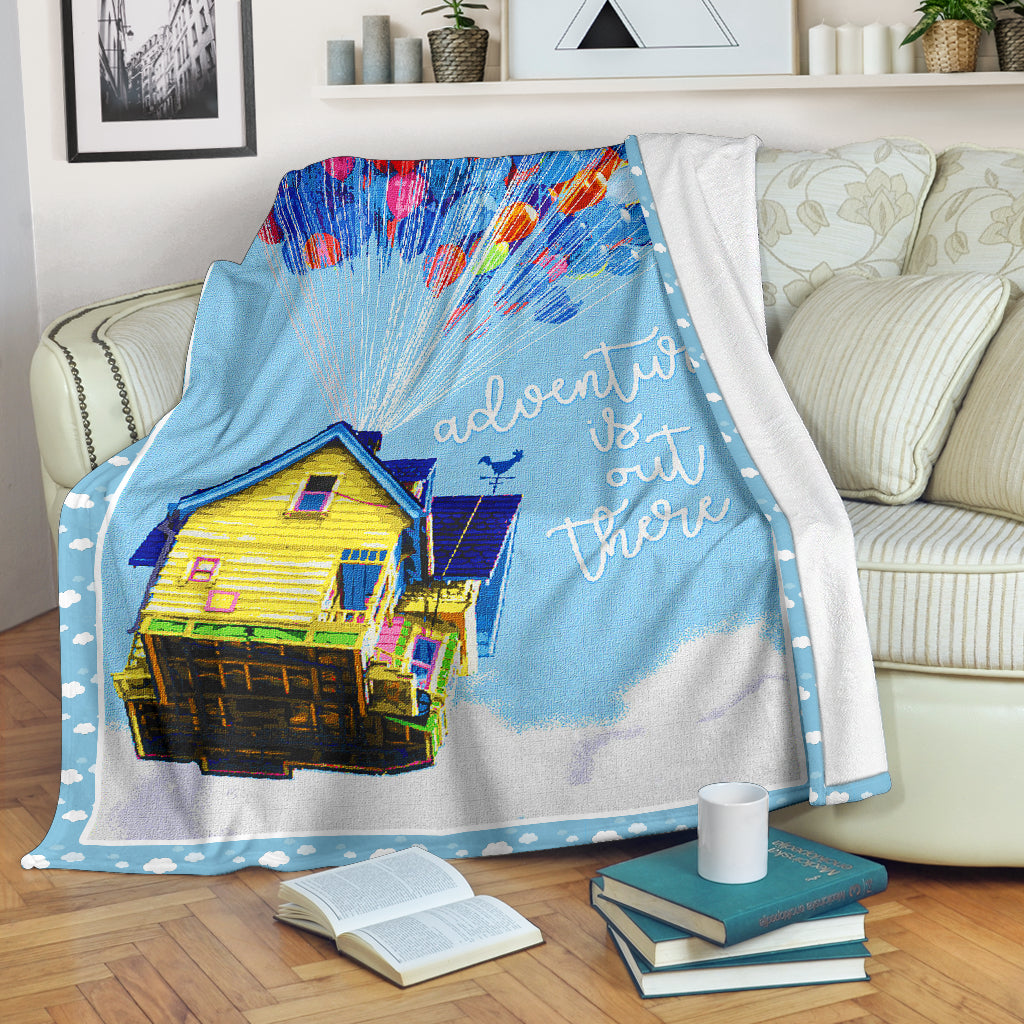 Adventure is out there - Premium blanket