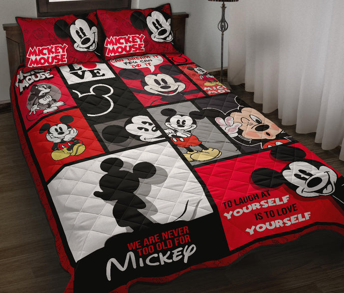 Mickey Quilt Bed Set