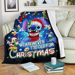 Stitch Christmas Blanket