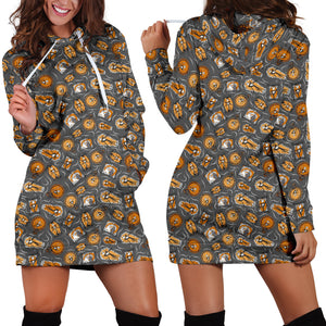 [Express Line Product+ 12$] Jack Disney Halloween Women's Hoodie Dress