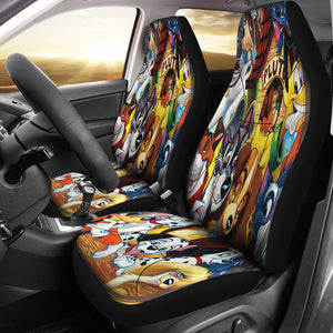 Lady and the Tramp Car Seat Cover