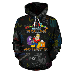 DN is Calling and I must go - Over Hoodie
