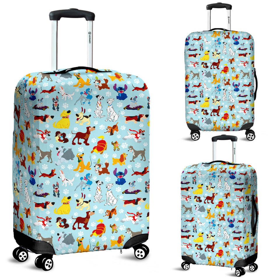 All Dogs Luggage Cover