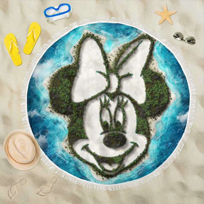 Minnie island beach blanket