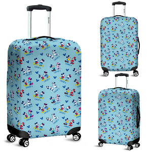 Mickey and Minnie Luggage Cover