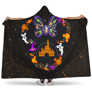 Minnie Disney Hooded Blanket