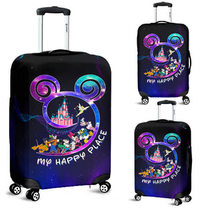 MY HAPP PLACE - AWESOME LUGGAGE COVER