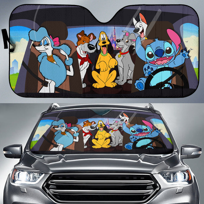 Disney Dog Auto Sun Shades