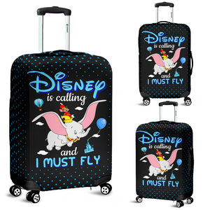I Must Fly Luggage Cover