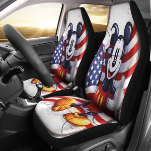 Mickey US Car Seat Cover
