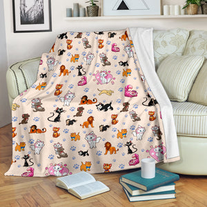 Cats Disney Premium Blanket