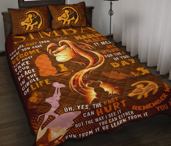Lion King Quilt Bed Set