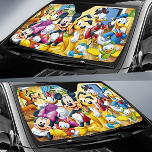 Mickey and Friends Auto Sun Shade