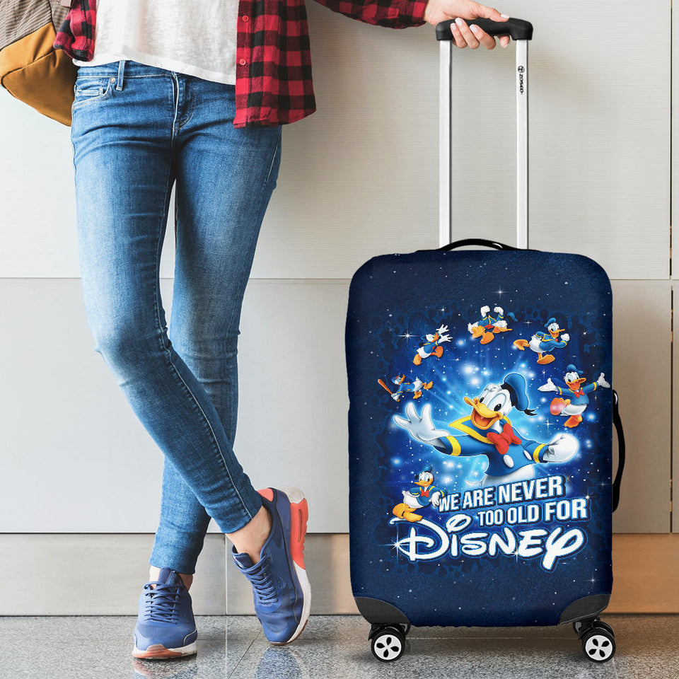 Donald Duck Luggage Cover