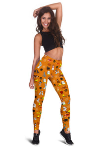 [Express Line Product+ 12$] Halloween Dogs Legging