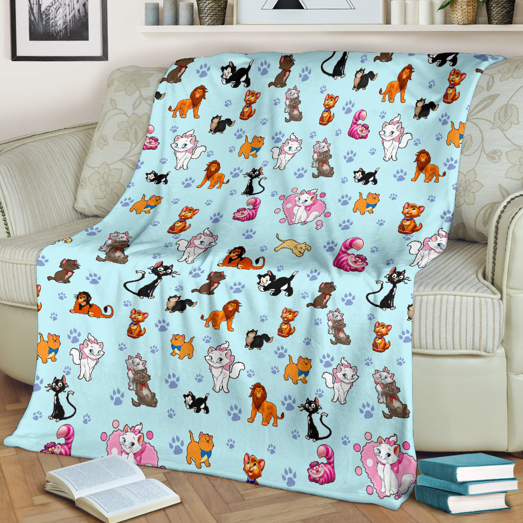 Disney Cats Blanket