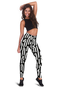 Mickey Stripe All Over Leggings