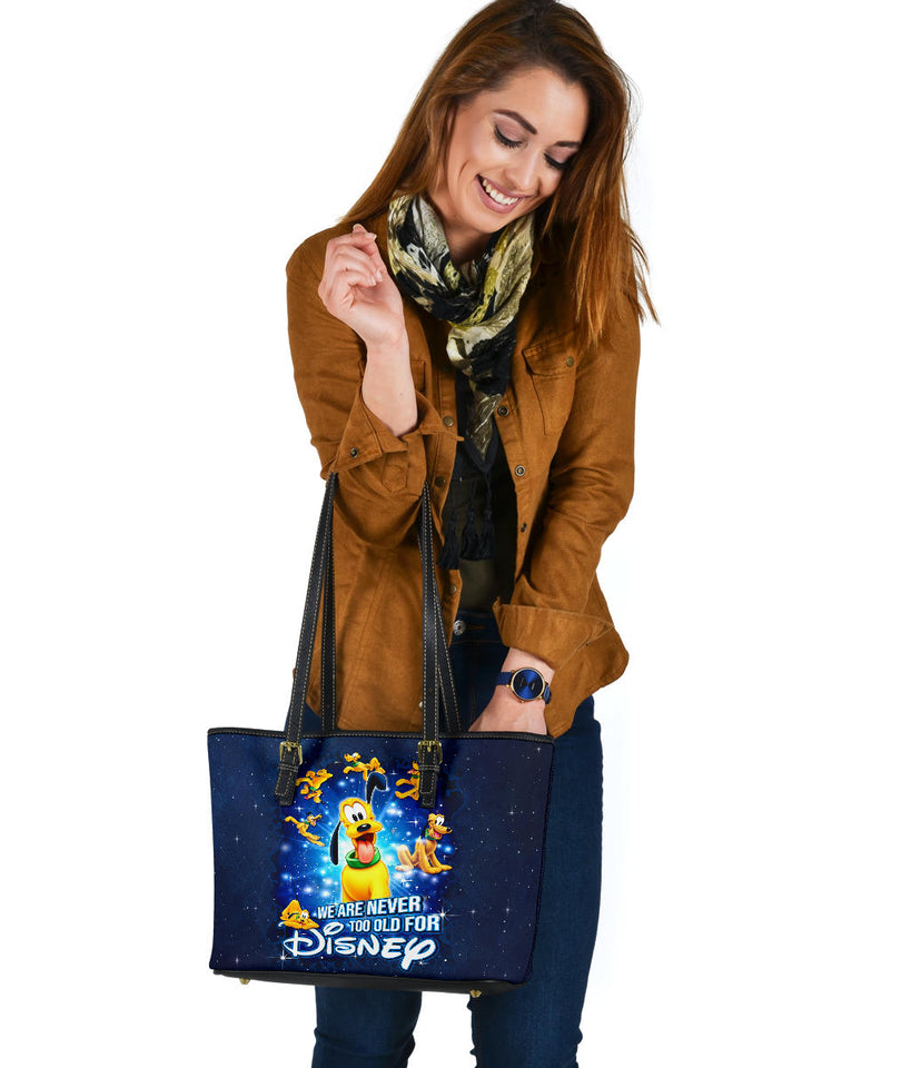 Plu Never Too Old Tote