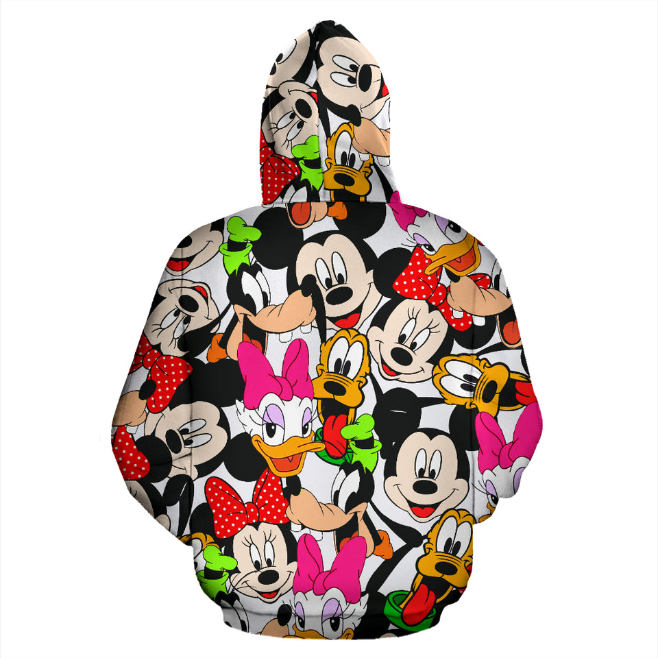 Disney Land All Over Hoodie