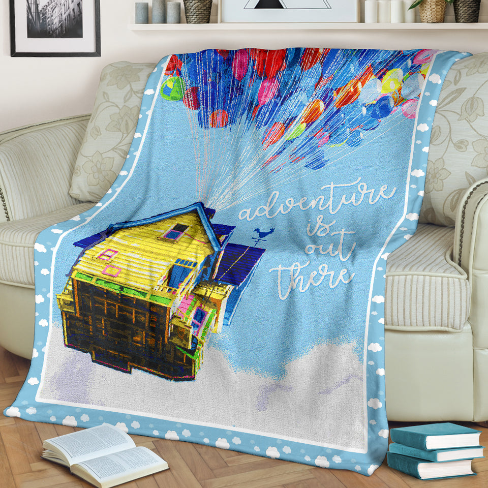 Adventure is out there Blanket