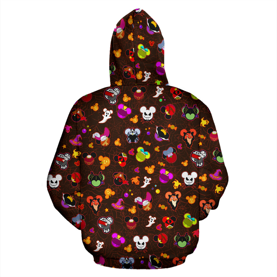 [Express Line Product+ 12$] Halloween Villain All Over Hoodie