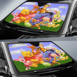 Pooh and Friends Auto Sun Shade