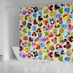 Awesome Character Shower Curtain
