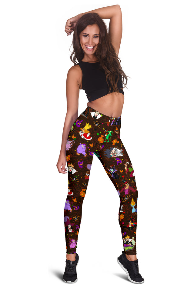 [Express Line Product+ 12$] Villain Disney Halloween Women's Leggings