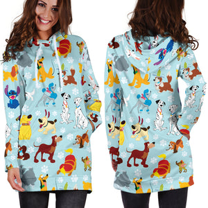 Dogs Hoodie Dress