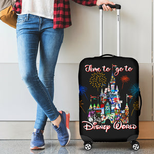 LT - Luggage Cover - Time to go Disney