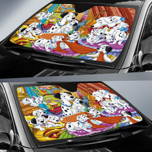 101 Dogs Disney Auto Sun Shade