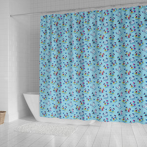 Mickey and Minnie Shower Curtains