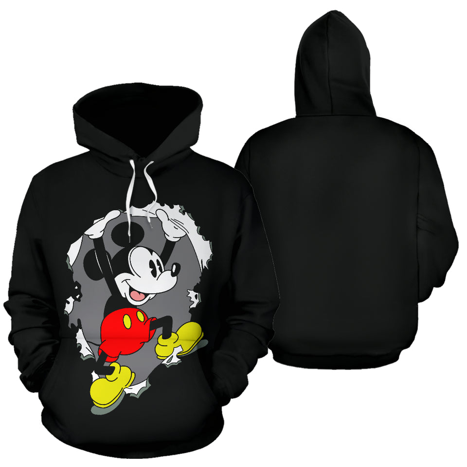 Mickey Happy All Over Hoodie