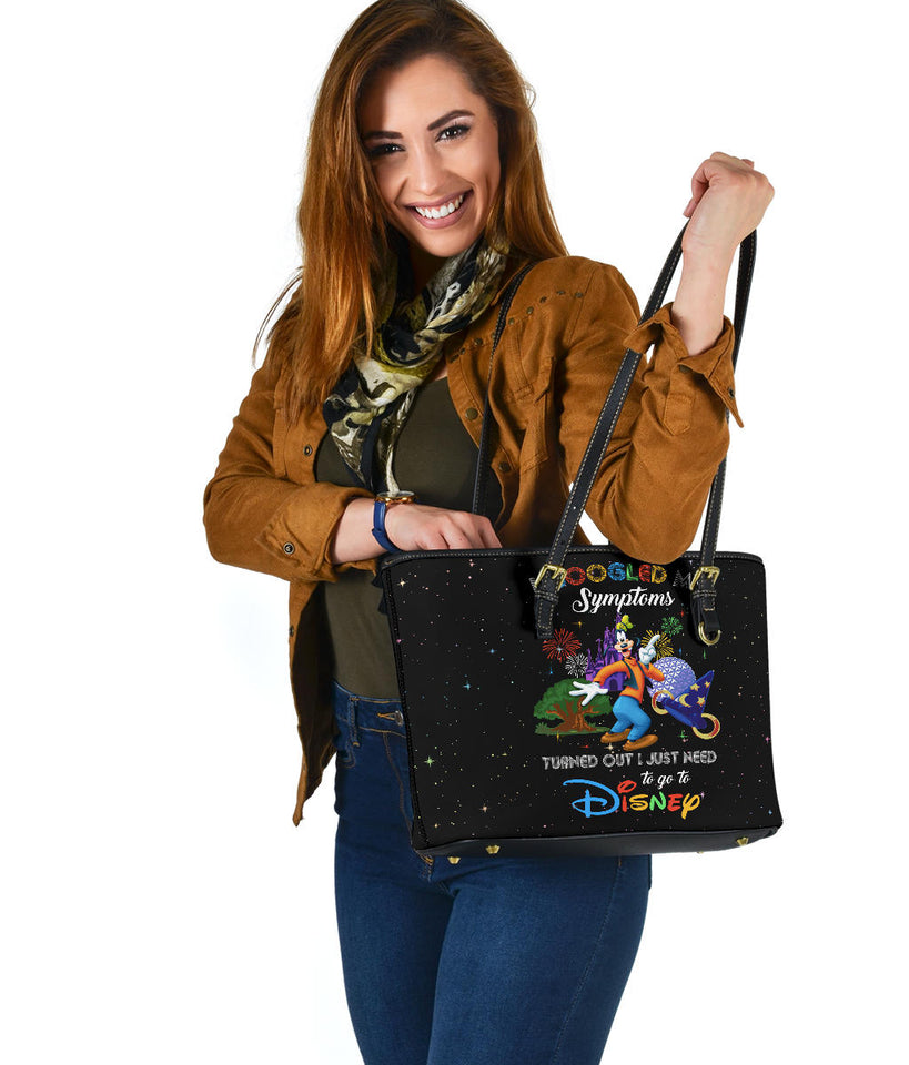Goofy Symptoms tote bag [EXPRESS SHIPPING APPLIED]
