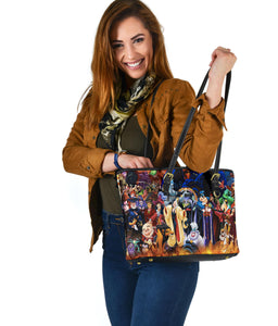 Disney Villains Small Leather Tote [Express Shipping Applied]