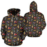 [Express Line Product+ 12$] Mickey Disney Halloween Zip Hoodie