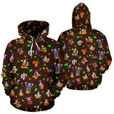 [Express Line Product+ 12$] Disney Halloween All Over Hoodie