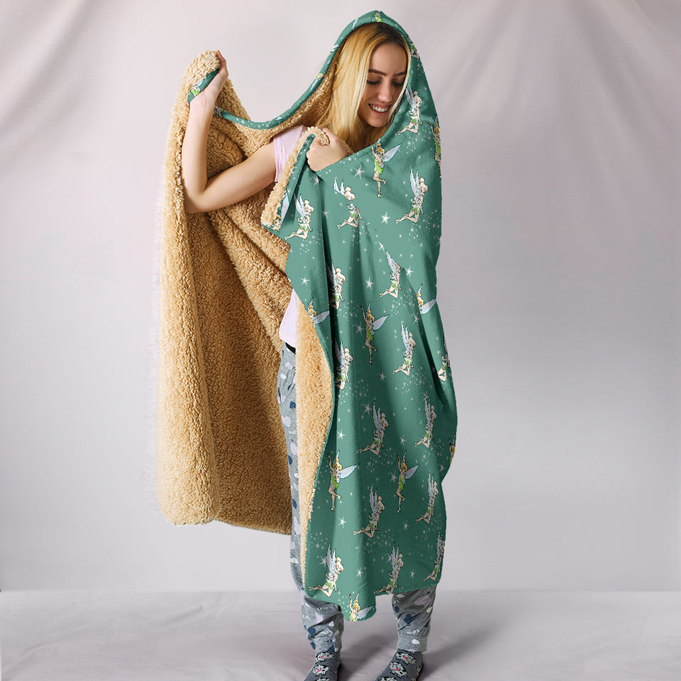 Tinkerbell Hooded Blanket