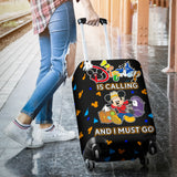 LUGGAGE COVER - DISNEY IS CALLING