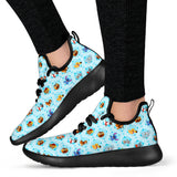 Dog Cute - Mesh Knit Sneakers Black