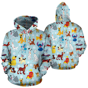 Dogs All Over Hoodie