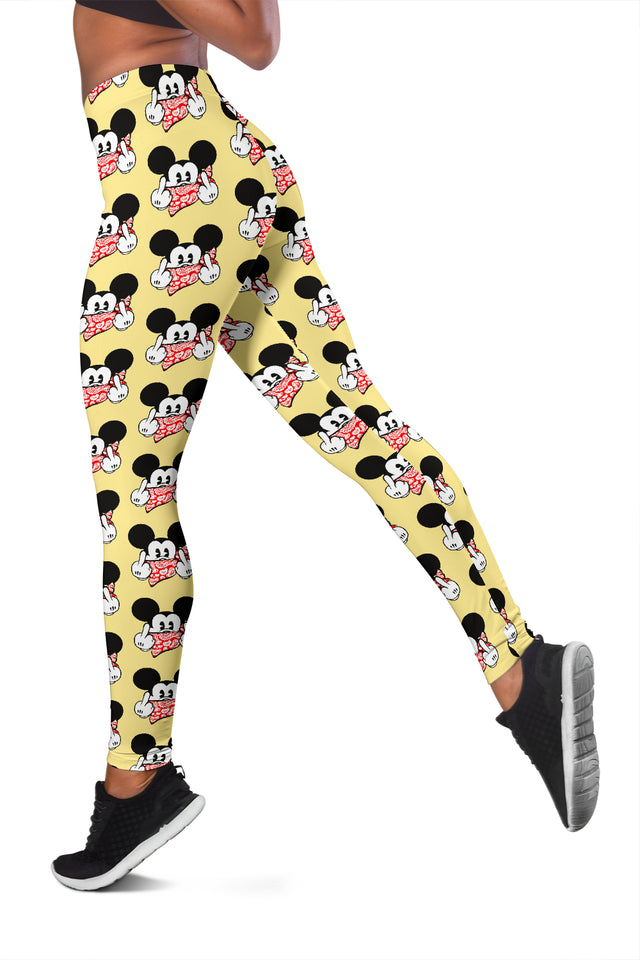 Mickey Cool Yellow Leggings