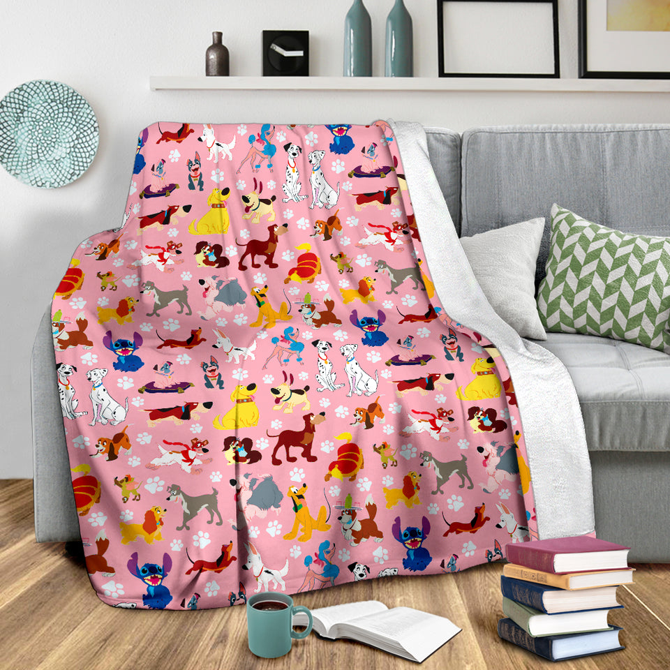 Cute DN Dog Blanket