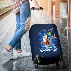 Goofy Disney Luggage Cover