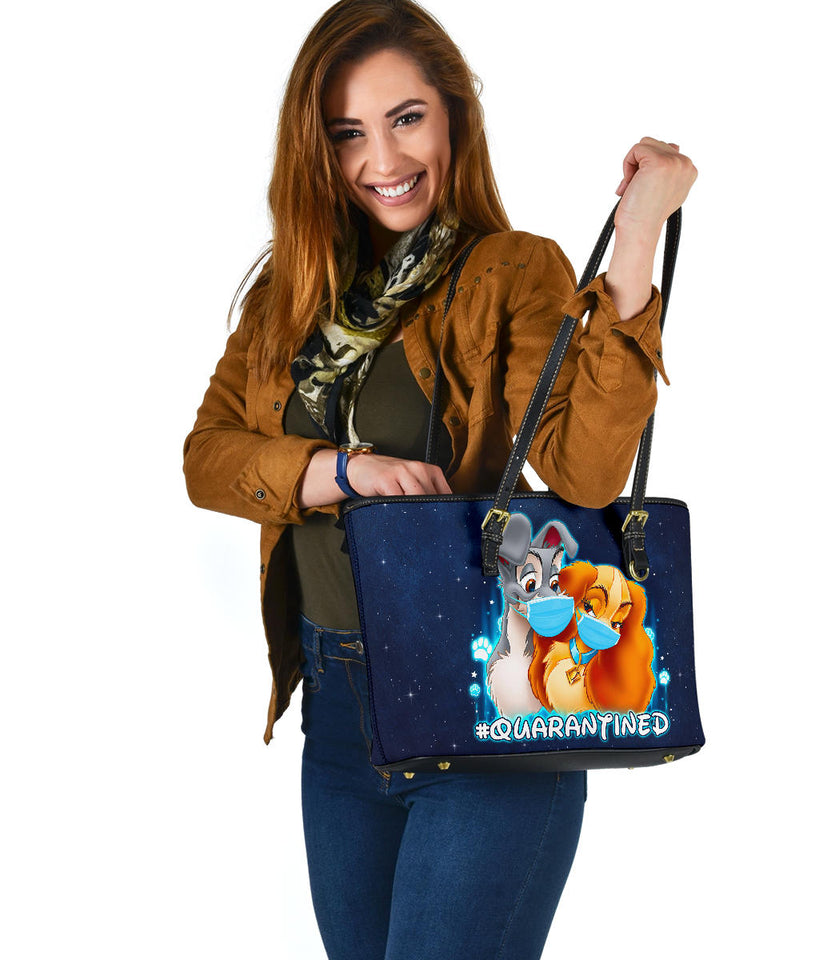 Lady and Tramp quarantined tote