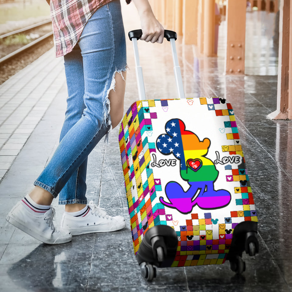 Mk LGBT Luggage Cover
