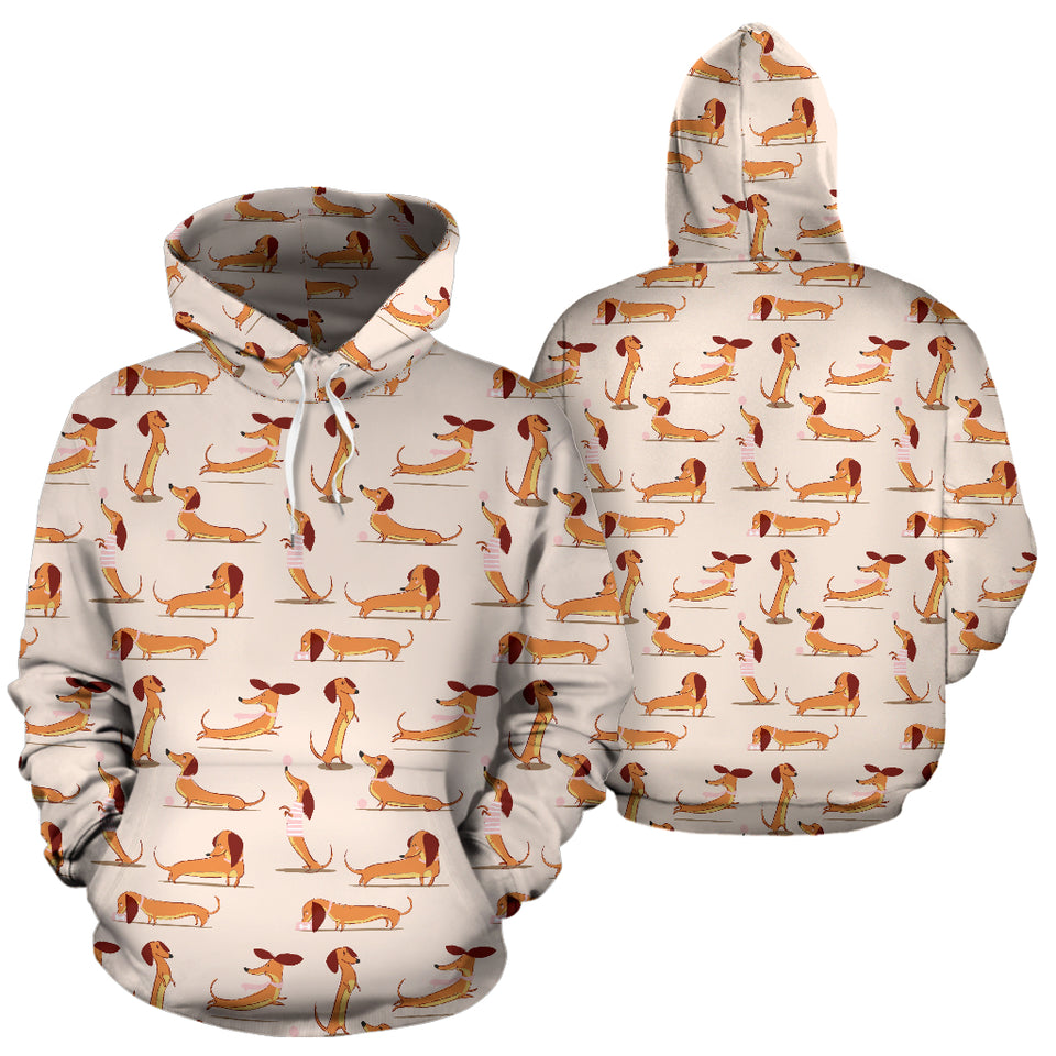 Dachshund All Over Hoodie