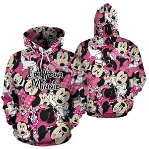 I'm Your Minnie All Over Hoodie