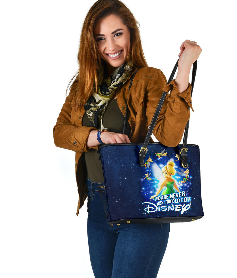 Tinkerbell Never Too Old Tote [EXPRESS SHIPPING APPLIED]